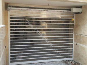 کرکره شیشه ای ضد سرقت